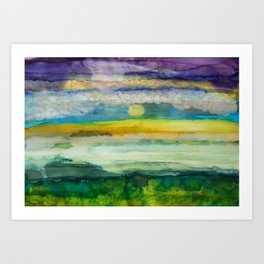 For Me, This is Heaven Art Print