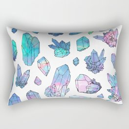 Crystals Rectangular Pillow