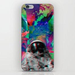 Tripping Space Man iPhone Skin