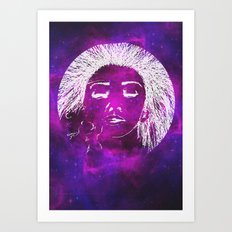 Dream, Space Art Print