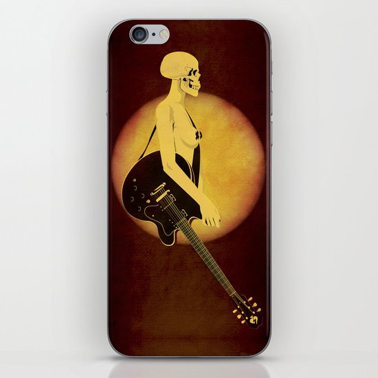 Skull Of Rock iPhone Skin
