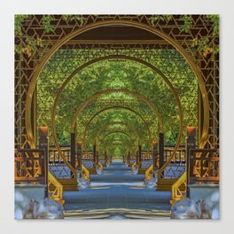 Eight Gates Canvas Print