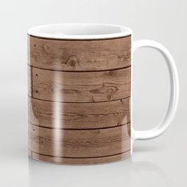 Reclaimed Floorboards Wood Pattern Coffee Mug