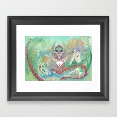 The Secret of Fantasies Framed Art Print