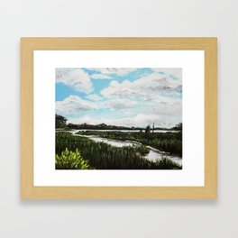 Long Creek Framed Art Print