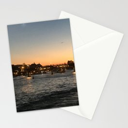 Paris, France - Seine Stationery Cards
