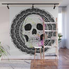 Sugar Skull Mandala Wall Mural