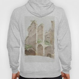Het Colosseum te Rome (The Colosseum in Rome) by Joseph August Knip (1777-1847) Hoody