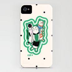 Joana's cats Slim Case iPhone (4, 4s)