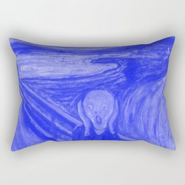 The Scream - Edvard Munch - Japanese Porcelain Concept Rectangular Pillow