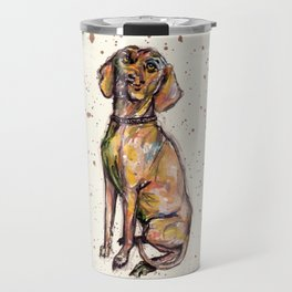 Hungarian Vizsla Dog Travel Mug