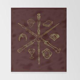 Priori Incantatem Throw Blanket