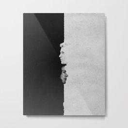 Steve & Peggy | Split Metal Print