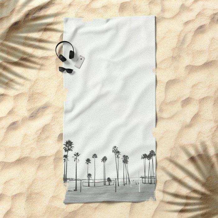 Bleached Beach Beach Towel