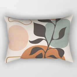 Abstract Minimal Shapes 23 Rectangular Pillow
