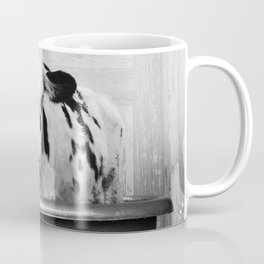 Cow with Rubber Ducky in Vintage Bathtub Coffee Mug