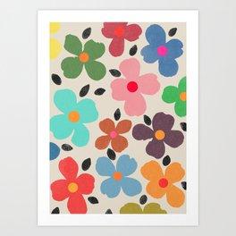 dogwood 1 Art Print