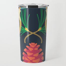 Red-bellied Woodpecker + Red Pine Travel Mug