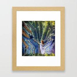 Vernal Equinox - Mystic Night Framed Art Print