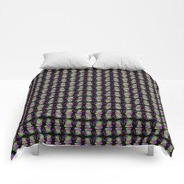 Rainbow Bell in Black Comforters