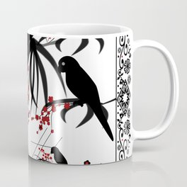 "A series of "" Favorite pillow ""Parrots 1 Coffee Mug"