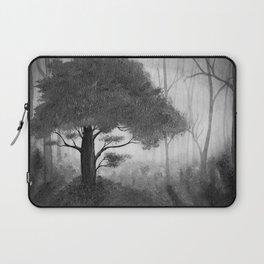 The Dark Forest (B&W) Laptop Sleeve
