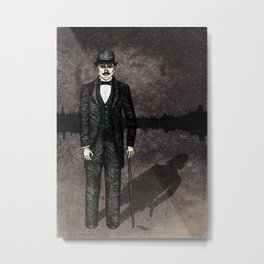 Jekyll and Hyde Metal Print