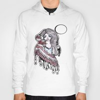 selena gomez Hoodies featuring Selena by meowkitty17