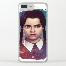 Wednesday Addams Clear iPhone Case