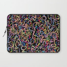 Rainbow Worms Confetti Laptop Sleeve