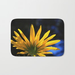Backwards Sunflower Bath Mat