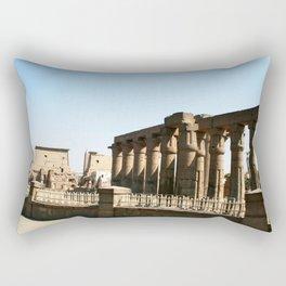 Temple of Luxor, no. 30 Rectangular Pillow