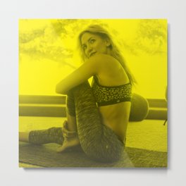 Kate Hudson - Celebrity (Photographic Art) Metal Print