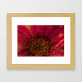 Carbonated Flower Framed Art Print