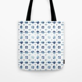 Azulejo I - Portuguese hand painted tiles Tote Bag