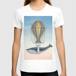 Whale And Bird T-shirt