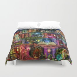 Whimsy Trove - Treasure Hunt Duvet Cover