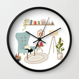 Sundays Wall Clock