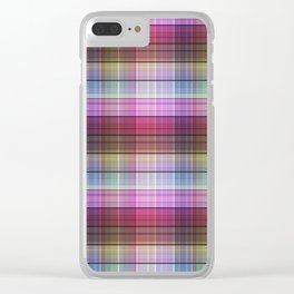Pattern the cage 3 . Clear iPhone Case