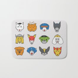 Super Dogs Bath Mat