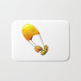 Golden Parachute Bath Mat