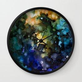 Soft Mushroom Coral Wall Clock