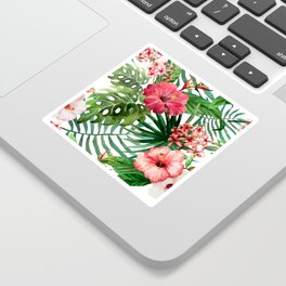 FLOWERS WATERCOLOR 8 Sticker