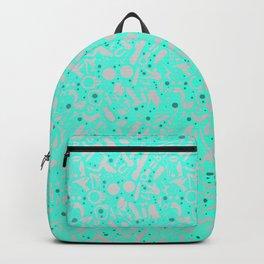 NSFW Aqua Kinky S&M Pattern Backpack