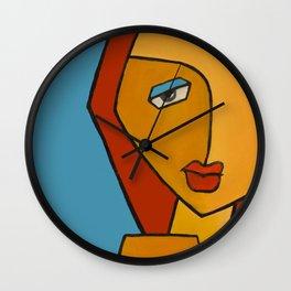 queen fatma Wall Clock