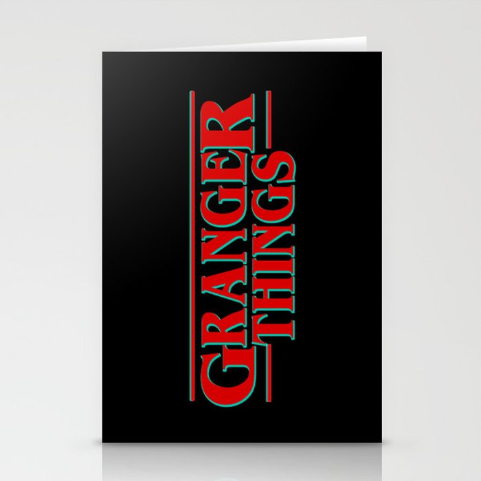 Granger Things ! Stationery Cards