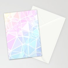 Pastel Triangles 1 Stationery Cards