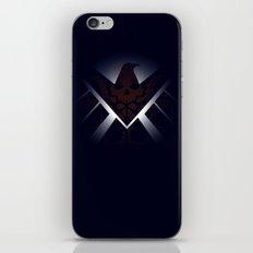 Hidden HYDRA – S.H.I.E.L.D. Logo Sans Wording iPhone & iPod Skin