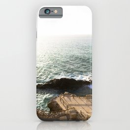 Rocky coast  | Calm natural travel fine art print | Fuerteventura, Canary Islands, Spain iPhone Case