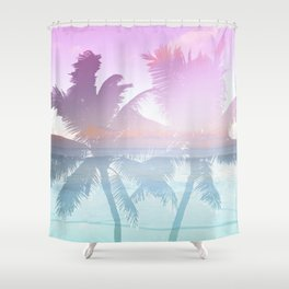 Tropicana seas Shower Curtain